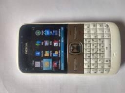 Celular Nokia e5 para ligações rádio calculadora agenda e outros
