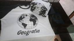 Camisa personalizadas 100%  algodão