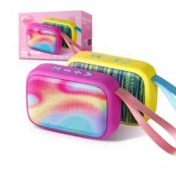 Caixa de Som Bluetooth FM USB SD Multimídia Fashion Exbom<br><br>Leia o anúncio