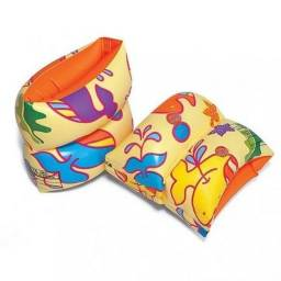 Bóia Infantil de Braço Nova - Nautika Fashion Laranja - Nunca Usada