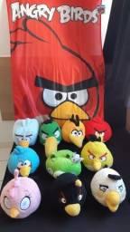 Coleção pelúcia angry birds