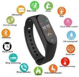 Relógio Inteligente Bluetooth M4 Smartwatch