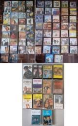 71 CDs originais + 14 fitas K7 antigas/usadas em bom estado