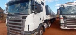 Conjunto Scania com bitrenzao graneleiro