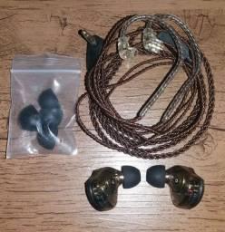 Fone In Ear Kz Zsn Pro Sem Microfone