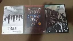 3 dvds titãs acústico 1 e 2