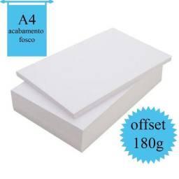 Título do anúncio: Papel Offset 180g pacote 50 folhas - ideal para certificados e personalizados em geral;