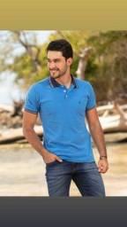 Camisa polo Premium 100% algodão