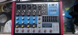 Mesa 6 canais SoundVoice