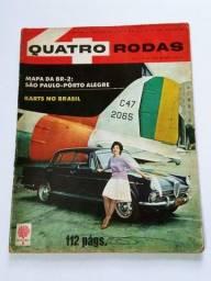 Quatro Rodas Nº9 Abril 1961 - FNM J.K., Candango, Dauphine