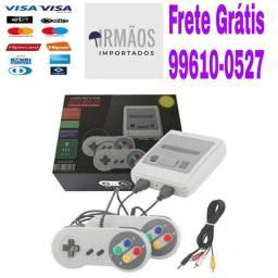 Video Game Com 620 Jogos Super Nitendo Portatil