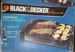 Grill e Griddle Black Decker