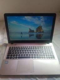 Notebook Asus Intel i3 6006U 2.0Ghz DDR4 4GB  HD 500GB