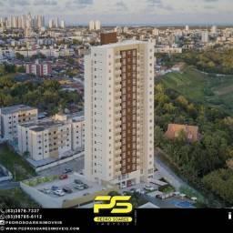 Apartamento com 2 dormitórios à venda, 55 m² por R$ 230.000 - Água Fria - João Pessoa/PB