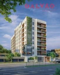 Apartamento à venda com 1 dormitórios em Rebouças, Curitiba cod:43475