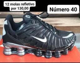 Nike 12 molas refletivo número 40 !!!