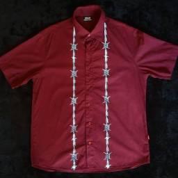 Camisa High Button Up Wire Boyz