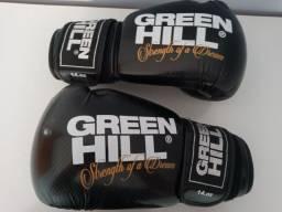 Luvas de Boxe e Muay Thai Green Hill 14Oz