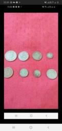 Lote moedas antigas