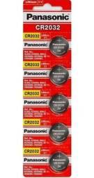 Bateria Panasonic Lithium CR 2032 3V / C/5 unid