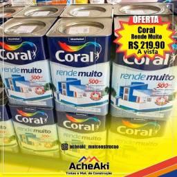 Tinta Coral Rende Muito 18 Litros