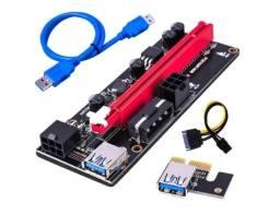 Placa Riser PCIe 009s - Loja Física