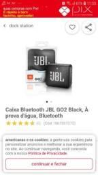 Caixa JBL GO2 bluetooth