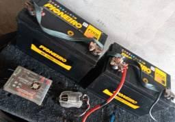 Som baterias modulo