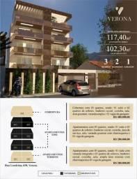 Apto B. Veneza, 03 quartos suíte, Sac. Gourmet, 102 m²,. Valor 280 mil