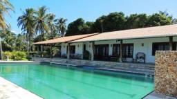 Espetacular fazenda Trairí 177 há lagoa, casa com piscina, coqueiros irrigados