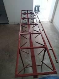 Estrutura para fogão industrial
