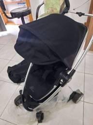 Carrinho Bebê Importado guarda chuva Quinny 3 possíveis alumínio com bolsa manual alum