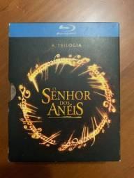 Blu-ray - Box Trilogia O Senhor dos Anéis (perfeito estado)