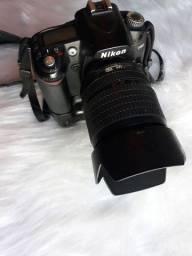 Câmera Nikon d90 com lente 18-105
