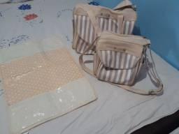 Vendo kit de bolsa de bebê unissex Art  pura