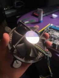 Kit processador i3, placa mãe 1155 e cooler Intel