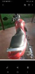 vendo moto Suzuki ano 2009