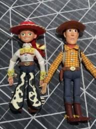 Bonecos woody e jessie original da Disney