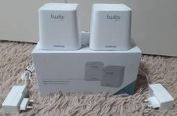 Kit Roteador repetidor Twibi Fast Wi-Fi 5 Mesh Intelbras *NAGarantia