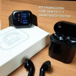 D20 y68 relogio smartwhach kit promocional