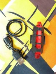 Led recarregável para bicicleta/ Novo