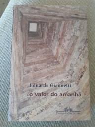 Livro O valor do amanhã - Eduardo Giannetti