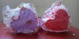 Corações porta joia e decoração .