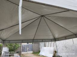Toldos pirâmide e tendas