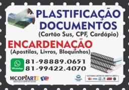 Encadernação e Plastificação Grafica Rápida Mcopirate Serviços e Importados