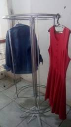 Expositor  giratório roupas