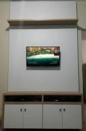 Painel TV e mesa em mdf
