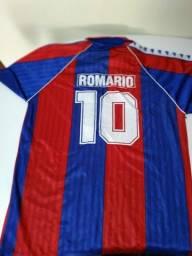 Camisa Barcelona Romário Tamanho G