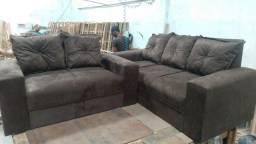 Conjunto de sofá | direto da fábrica - Entrega GRÁTIS*