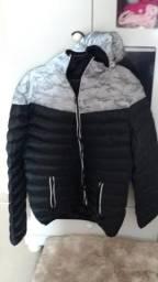 Jaqueta Grossa Camuflada Inverno